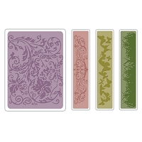Sizzix Texture Fades by Tim Holtz - Springtime Background & Border