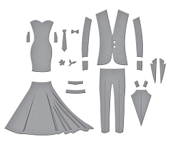 Spellbinders - Wedding Dress & Tux by Nichol Spohr