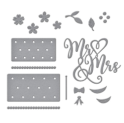 Spellbinders - Mr & Mrs Wedding Cake by Nichol Spohr