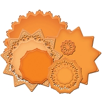 Spellbinders Decorative Elements Nestabilities die - Exquisite Circles