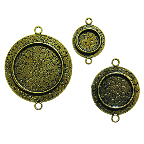 Media Mixage Jewelry Bezels (by special order)