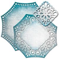 Spellbinders - Nestabilities Die - Decorative Elements Labels 46