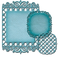 Spellbinders - Nestabilities Die - Labels 47 Decorative Elements