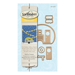 Spellbinders - Shapeabilities Die - D-Lites - Build A Camper
