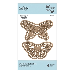 Spellbinders - Designer Die - Wandering Butterflies (by Stephanie Low)