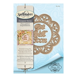 Spellbinders - Designer Die - Thoughtful Expressions-Get Well Soon (by Marisa Job)