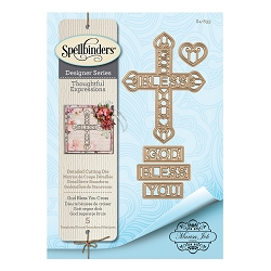 Spellbinders - Designer Die - Thoughtful Expressions-God Bless You (by Marisa Job)