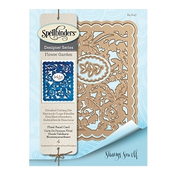 Spellbinders - Designer Die - Floral Panel Card (by Sharyn Sowell)