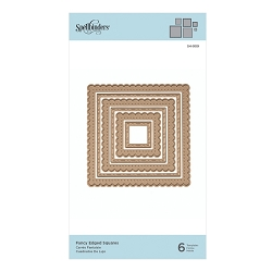 Spellbinders - Nestabilities Die - Fancy Edged Squares