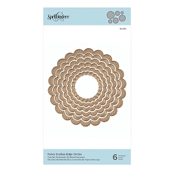 Spellbinders - Nestabilities Die - Fancy Scallop Edge Circles