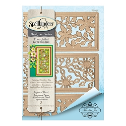 Spellbinders - Designer Die - Thoughtful Expressions-Layers Of Flowers (by Marisa Job)