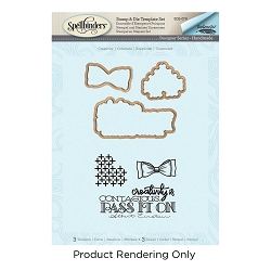 Spellbinders - Stamp & Die Set - Creativity Handmade (by Stephanie Low)