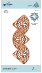 Spellbinders - Pointed Harmony Doily die by Amazing Paper Grace