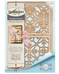 Spellbinders - Filigree Booklet die by Amazing Paper Grace