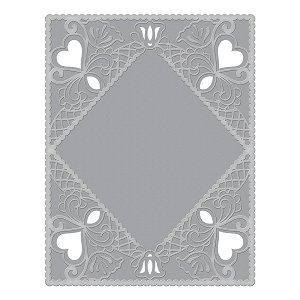 Spellbinders - Cut & Emboss Folders - Diamond Lace Frame