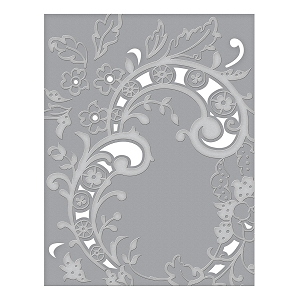 Spellbinders - Cut & Emboss Folders - Baroque Filigree