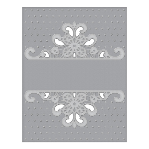 Spellbinders - Cut & Emboss Folders - Dotted Lace