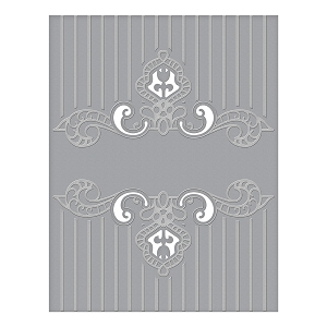 Spellbinders - Cut & Emboss Folders - Regal Swirl