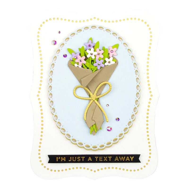 Spellbinders - Bouquet of Flowers Die Set