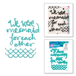 Spellbinders - Jane Davenport Artomology Die - Mermaid For Each Other