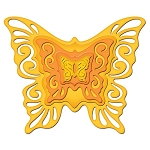 Spellbinders Nestabilities - Nested Butterflies Two :)