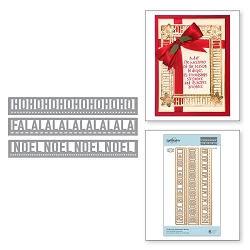 Spellbinders - Designer Die - Charming Christmas Words (by Amazing Paper Grace)
