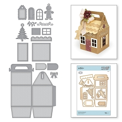 Spellbinders - Designer Die - Charming Cottage Box (by Amazing Paper Grace)