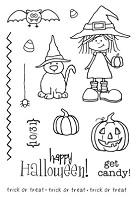 SRM - Clear Stamps - Jane's Doodles Get Candy