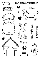 SRM - Clear Stamps - Jane's Doodles A Dog's Life