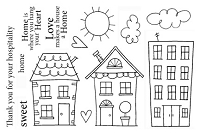 SRM - Clear Stamps - Jane's Doodles Neighborhood