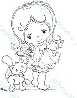 Stampavie - Clear Stamp - Here Kitty - by Penny Johnson