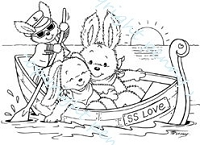 Stampavie - Clear Stamp - SS Love - by Penny Johnson