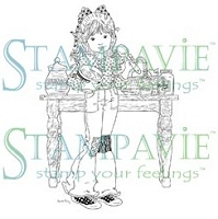 Stampavie - Clear Stamp - Jacqueline Baking Sweet Treats