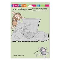 Stampendous Cling Mounted Rubber Stamps - House Mouse Designs - Umbrella Shade