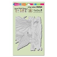 Stampendous Cling Mounted Rubber Stamps - House Mouse Designs - Sandpiper Hello