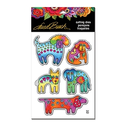Stampendous - Laurel Burch Dog Park Die Set
