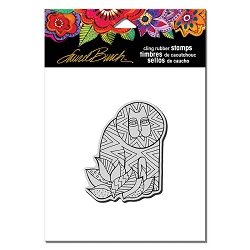 Stampendous - Laurel Burch - Cling Rubber Stamp Lion