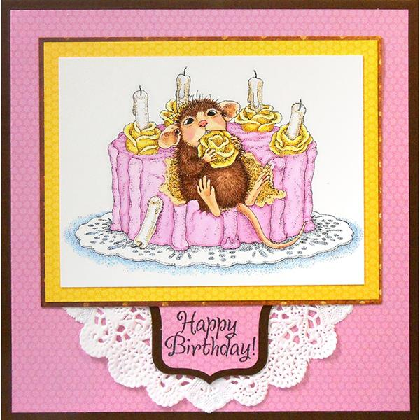 Stampendous - 5 New House Mouse Stamps