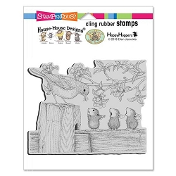 Stampendous Cling Mounted Rubber Stamps - House Mouse Designs - Tweet Treat