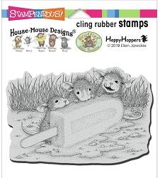 Stampendous - Cling House Mouse Cool Treat Rubber Stamp
