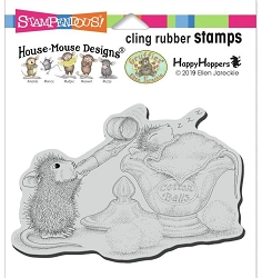 Stampendous - Cling House Mouse Sleepy Surprise Rubber Stamp