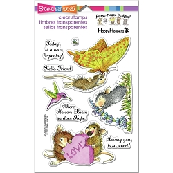 Stampendous Perfectly Clear Stamp - House Mouse A New Beginning