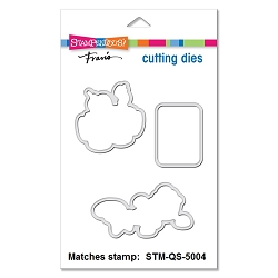 Stampendous - Matching die set - Cookie Christmas