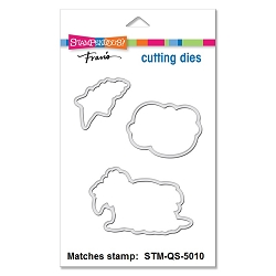 Stampendous - Matching die set - Manger Sheep