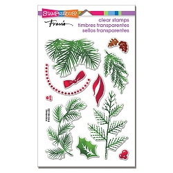 Stampendous Perfectly Clear Stamp - Christmas Greenery