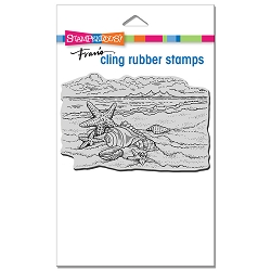 Stampendous - Cling Seaside Shells Rubber Stamp