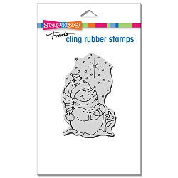 Stampendous - Cling Starlight Pals Rubber Stamp