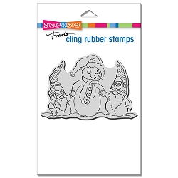 Stampendous - Cling Snome Buddies Rubber Stamp