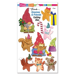 Stampendous - Gnomes & Friends Cutting Dies