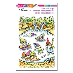 Stampendous - Gnome Pool Perfectly Clear Stamps